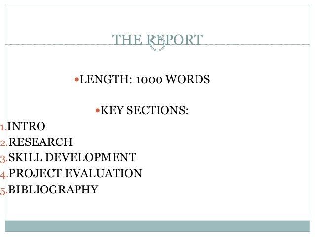 1000 Word Essay Example