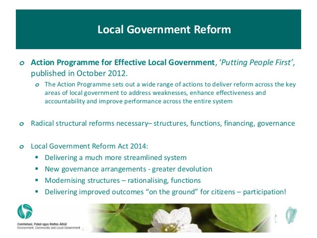 The efficacy of government accounting reforms