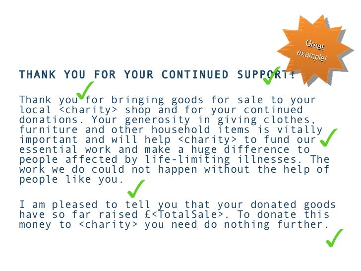 Donor development for charity shop donors 33 ullithank you spiritdancerdesigns Gallery