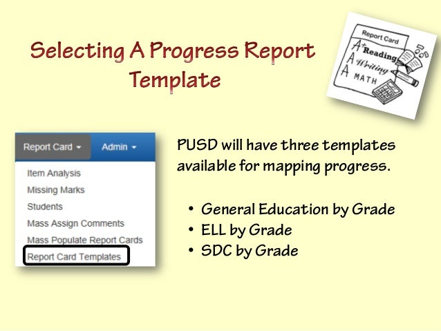 pusd elementary progress notice transition project