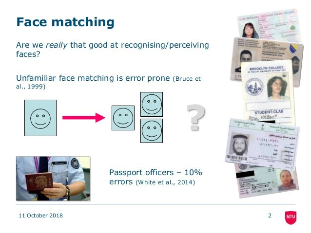 A novel interactive face matching procedure: Performance of normal and super face recognizers Slide 2