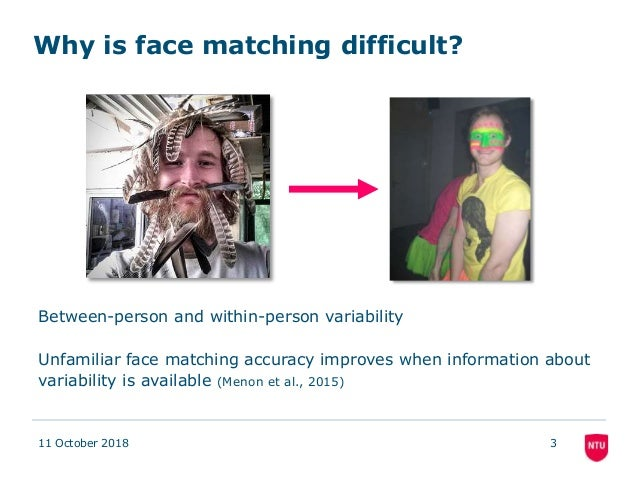 A novel interactive face matching procedure: Performance of normal and super face recognizers Slide 3