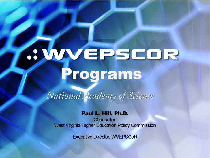 What is EPSCoR? The National Science Foundation's Experimental Program to StimulateCompetitive Research (EPSCoR) is afeder...