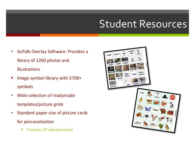 Gotalk 20 classroom routines 9 student resources gotalk pronofoot35fo Images