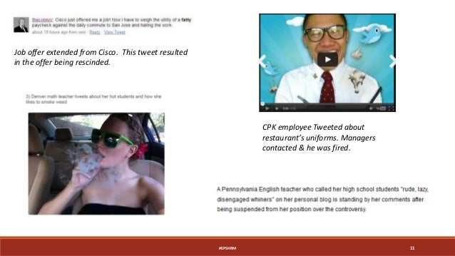 CPK employee Tweeted about restaurant's uniforms. Managers contacted & he was fired. Job offer extended from Cisco. This t...