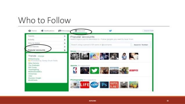 Who to Follow #EPSHRM 15