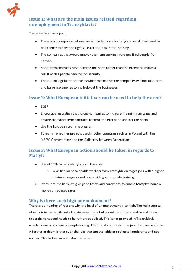 EPSO Oral and Case Study | EPSO Case Study