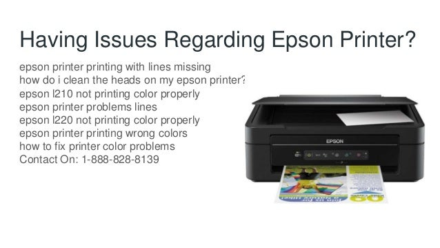 Epson Xp 440 Printing Missing Lines