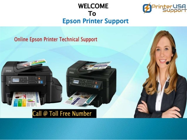WELCOME To Epson Printer Support