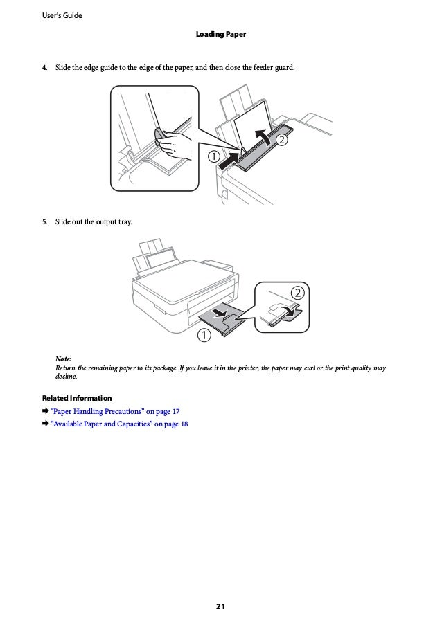 Epson Printer User Manual