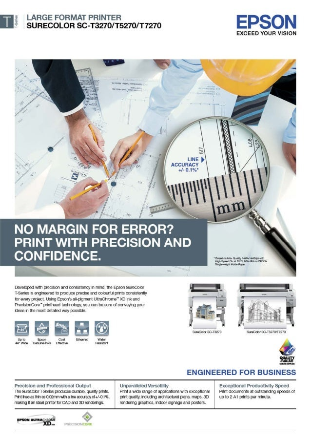 Mesin Digital Printing Epson SureColor SC-T3270/T5270/T7270