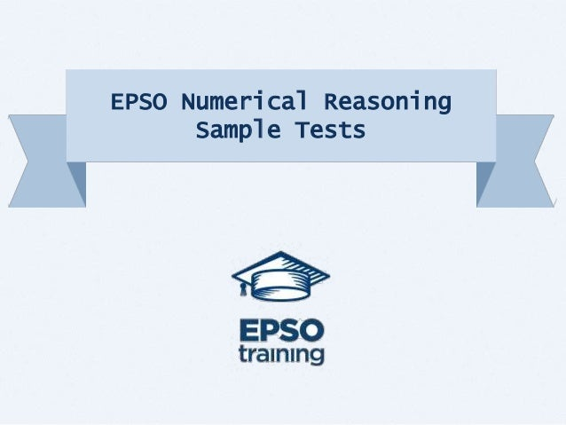 Epso numerical reasoning sample tests - European personnel selection office epso ...