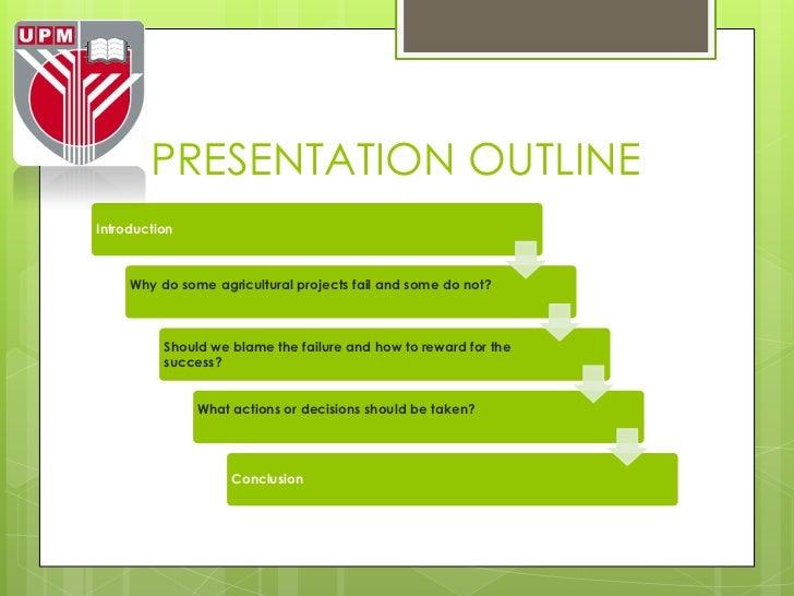 Agricultural project planning Slide 2