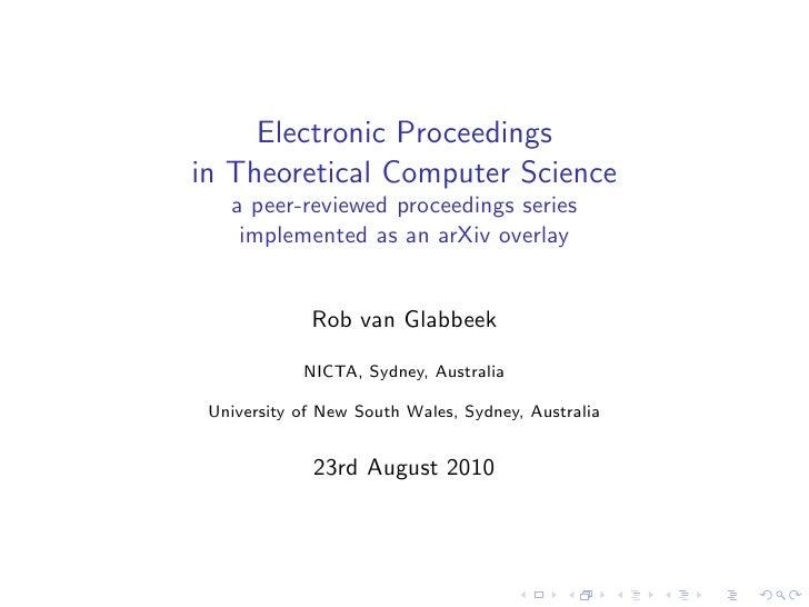 Eptcs slides-for-coasp-2010