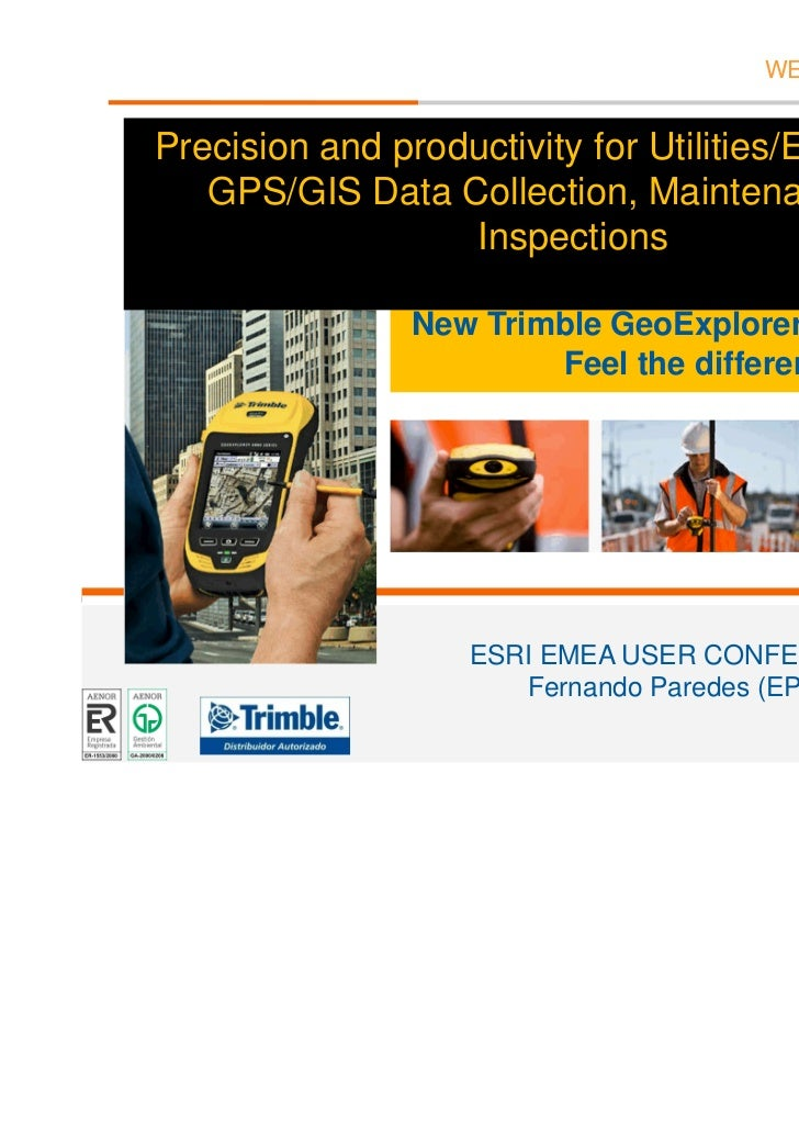 WE DO IT FOR YOU        Precision and productivity for Utilities/Energy Field           GPS/GIS Data Collection, Maintenan...