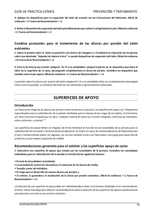 GUÍADEPRACTICACLÍNICAPREVENCIÓNYTRATAMIENTO  ©NPUAP/EPUAP/PPPIA...