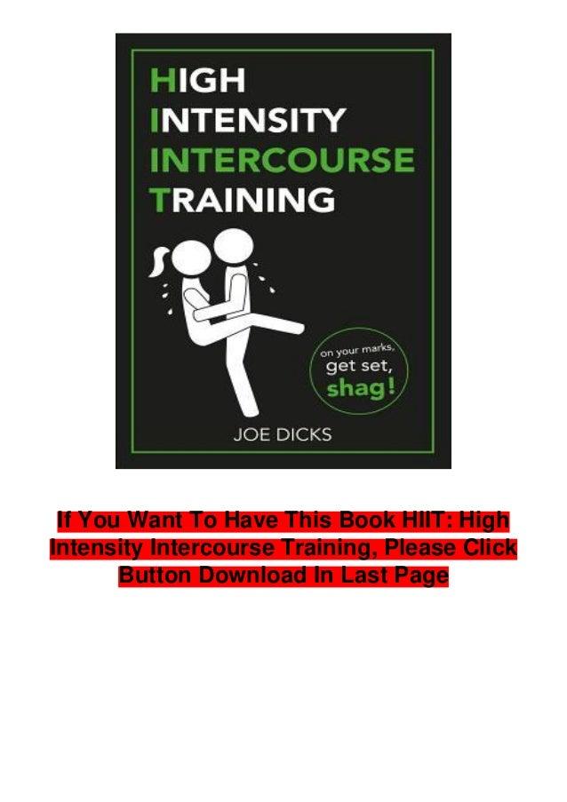 High Intensity Intercourse Training Joe Dicks