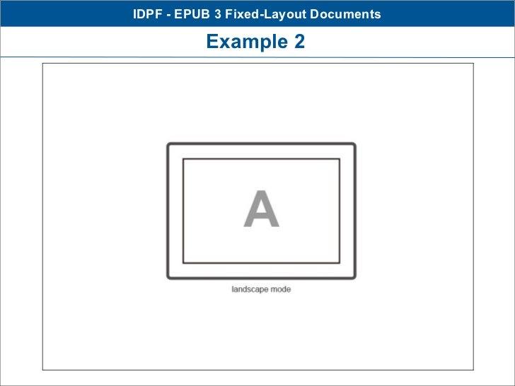 IDPF - EPUB 3 Fixed-Layout Documents          Example 2