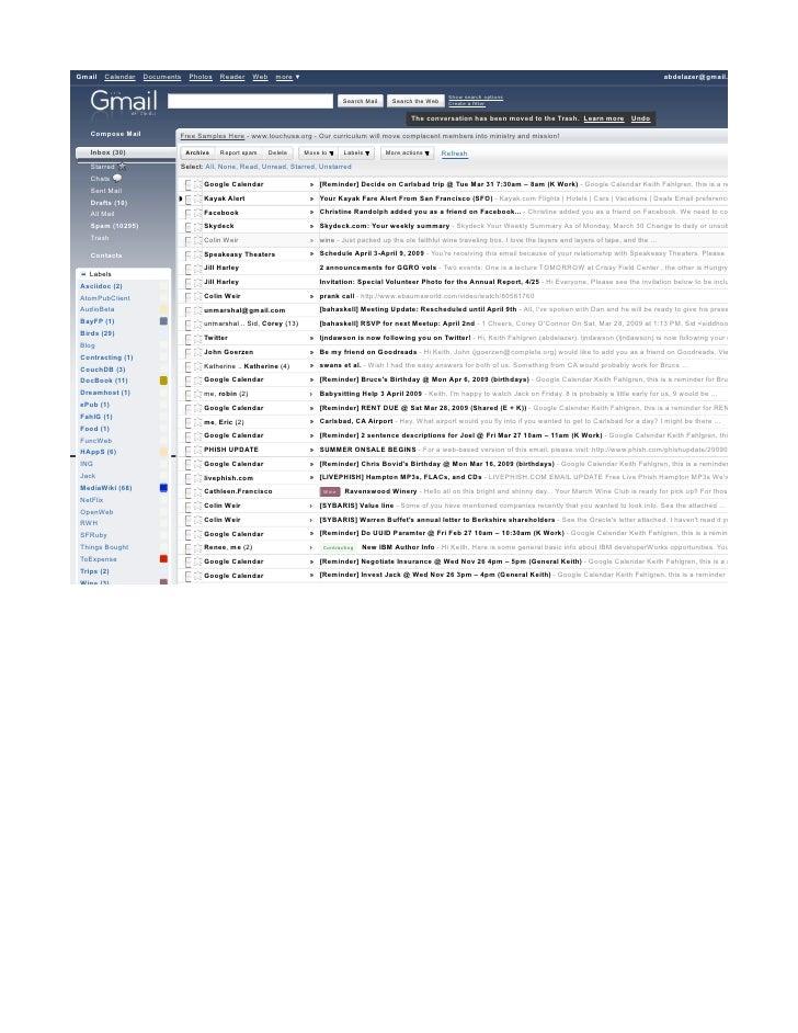 Gmail      Calendar   Documents   Photos    Reader     Web     more ▼                                                     ...
