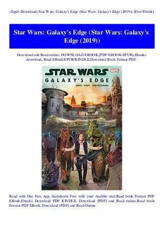 Epub Download Star Wars Galaxy S Edge Star Wars Galaxy S Edge 201