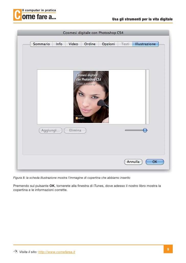 Usa gli strumenti per la vita digitaleFigura 8: la scheda illustrazione mostra l'immagine di copertina che abbiamo inserit...
