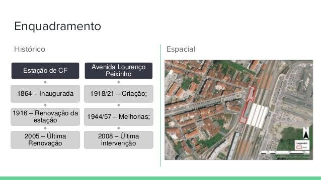 Espaço Público Urbano - Envolvente da Estação de Caminho de Ferro de Aveiro Slide 3