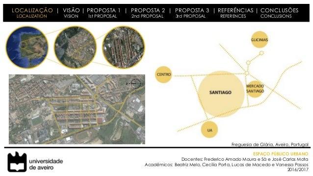 Espaço Público Urbano - Santiago Slide 2