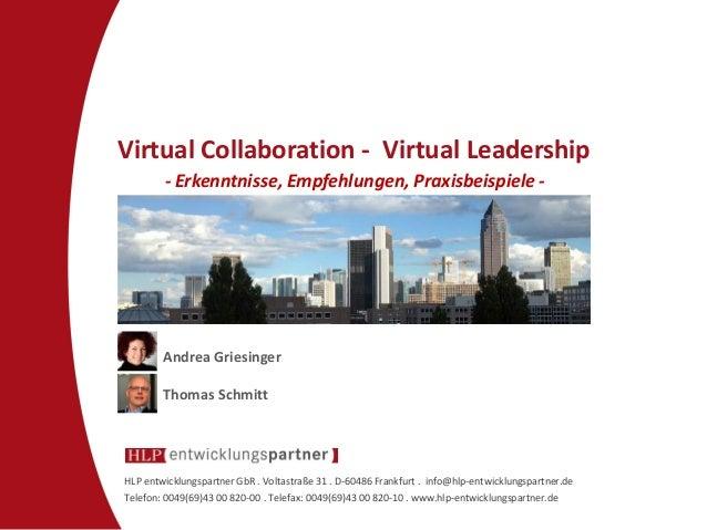 HLP entwicklungspartner GbR . Voltastraße 31 . D-60486 Frankfurt . info@hlp-entwicklungspartner.de  Telefon: 0049(69)43 00...