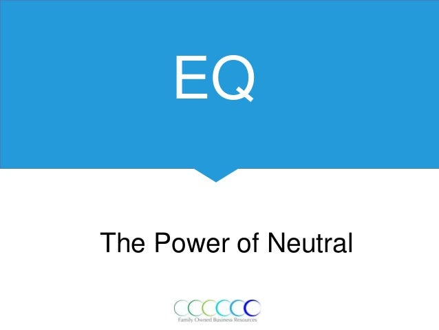 EQ The Power of Neutral