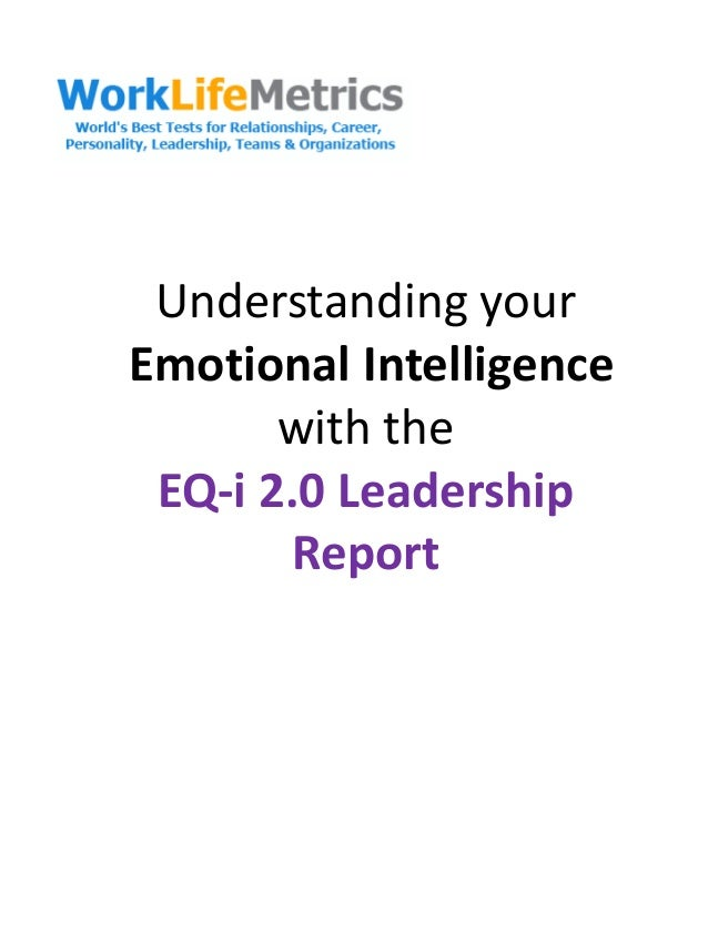 Emotional Intelligence in the Nursing Profession
