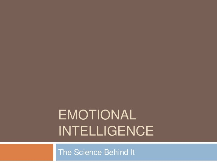 Emotional Quotient: The Science Behind It