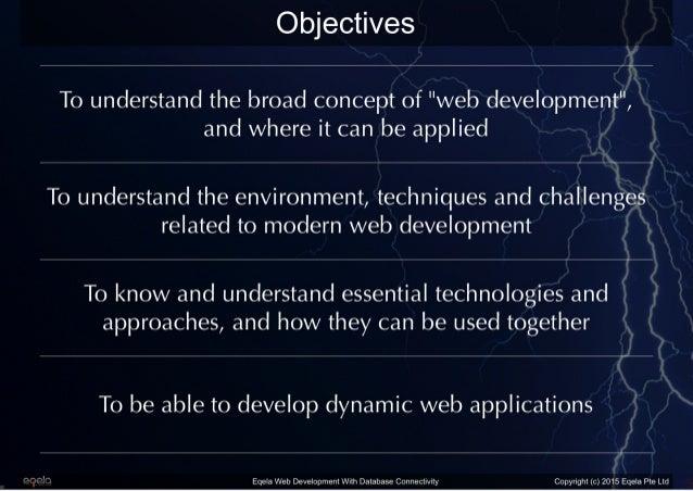 Eqela Web Development with Database Connectivity Slide 2