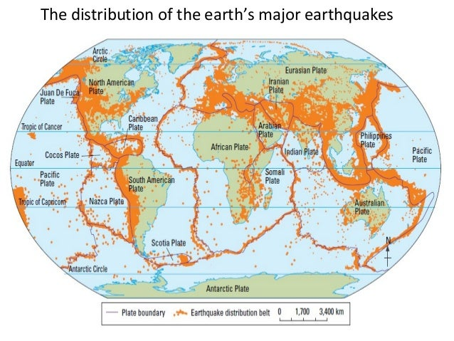 Eq and tsunamis the distribution of the earths major earthquakes gumiabroncs Gallery