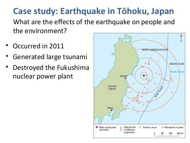 Earthquake Case Study (Japan) - Earthquake and volcano ...