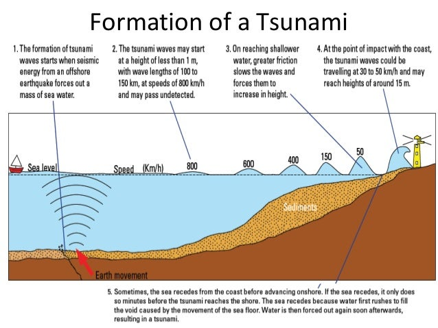 Eq and tsunamis