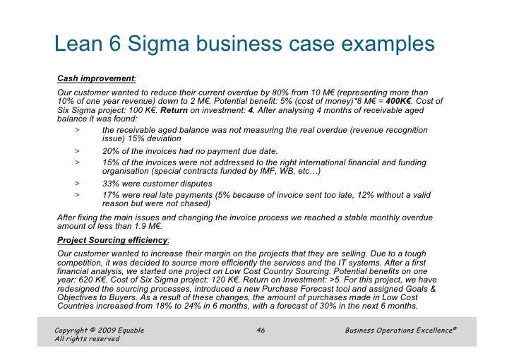 Equable Lean Six Sigma Boe English Presentation