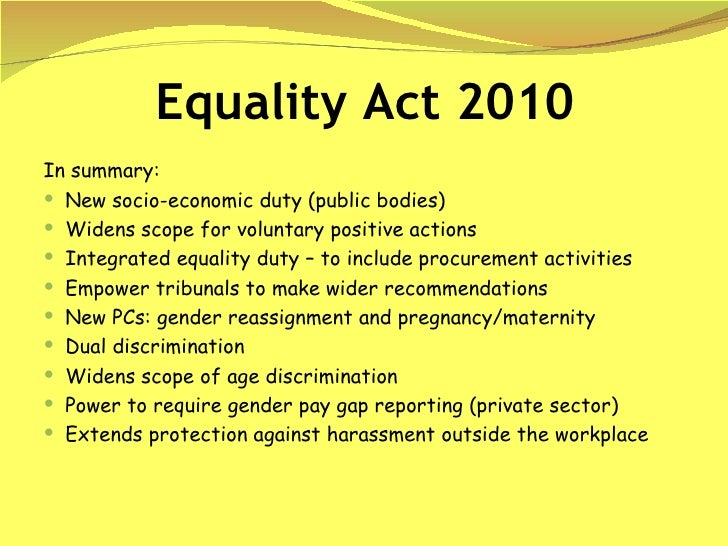 equality act Learn more about the equality act of 2017: groundbreaking protections against sex discrimination from nwlc.