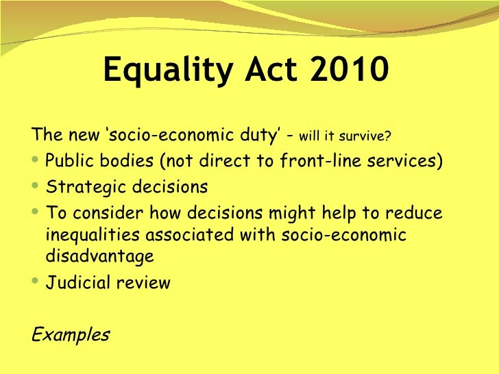 the equality act 2010 essay The equality act 2010 that employers in the rest of the uk are now familiar with  does not apply in northern ireland disability discrimination law.