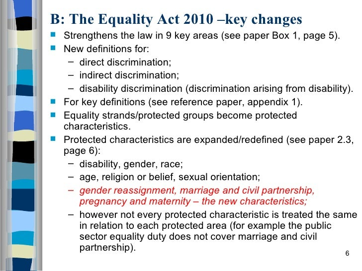types of equality essay Equality and diversity essay example using the correct terminology connect each with an appropriate legislation, charter or rights, giving brief explanation of how it protects individuals and society.