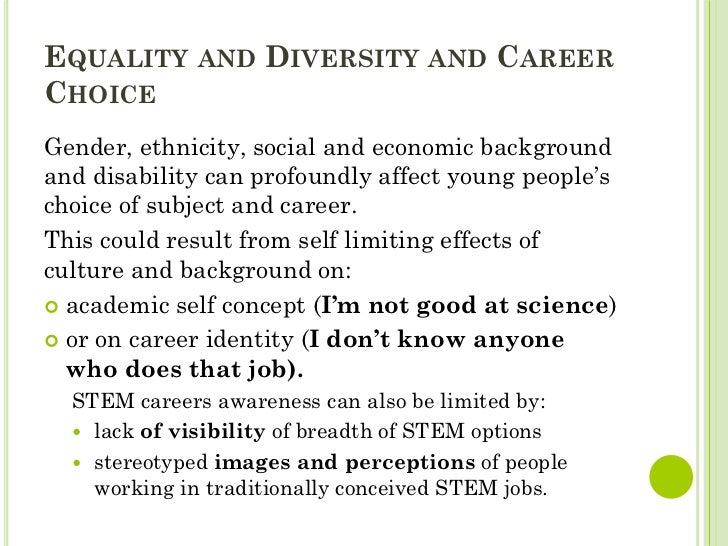 How actions by individuals can undermine equality and diversity
