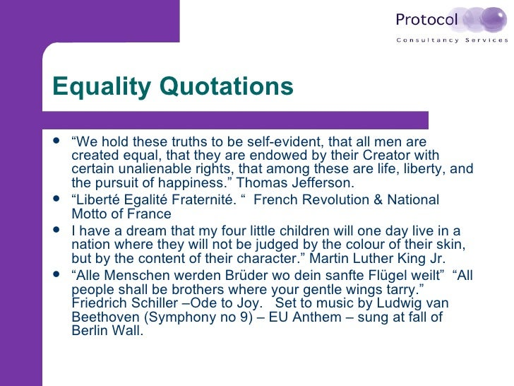 what is equality diversity and rights Equality and diversity essay example using the correct terminology connect each with an appropriate legislation, charter or rights, giving brief explanation of how it protects individuals and society.