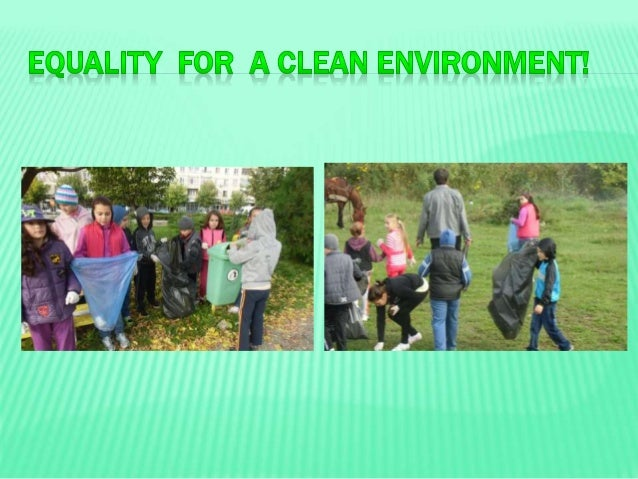 our role in keeping the environment clean