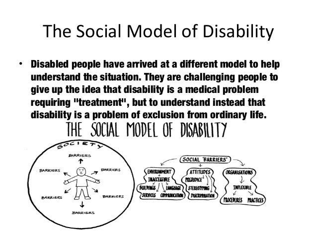 social model of disability and schizophrenia What is the social model of disability, how does it differ to the medical model of disability, and why is it important watch our film and read examples.
