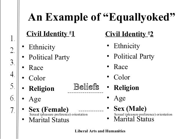 equally yoked - social justice - human rights - civil rights