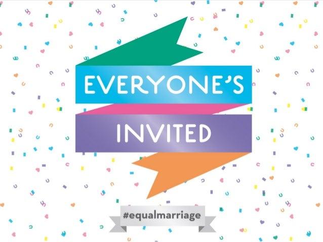 Equal MarriageMedia Briefing 11 December 2012