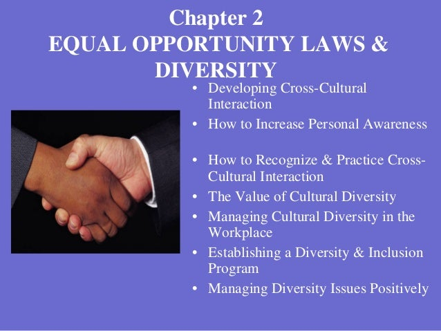 equal opportunities legislation essay Equal opportunity act chapter 22:03 lro act 69 of 2000 amended by 5 of 2001 current authorised pages pages authorised (inclusive) by lro 1–32.