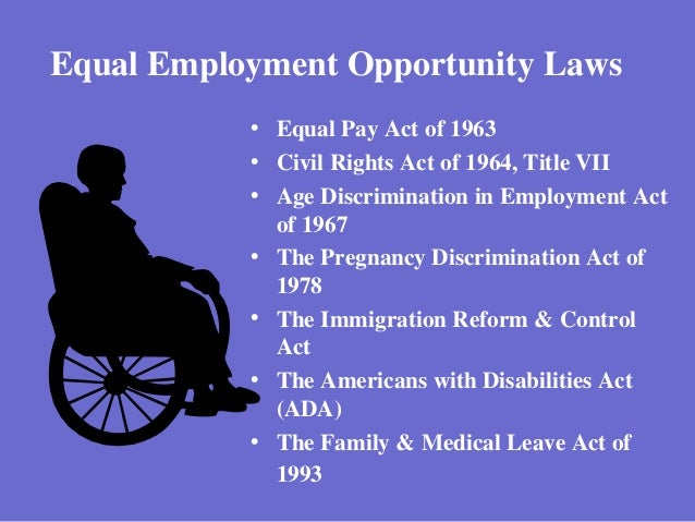 equal opportunity and the laws The equal opportunity is the law notice is an equal opportunity law poster by the florida department of economic opportunity this is an optional poster, so while it is recommended that you post this if it is relevant to your employees, you are not required to by the department of economic opportunity.