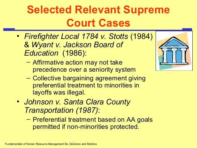 Employment Discrimination: U.S. Supreme Court Cases
