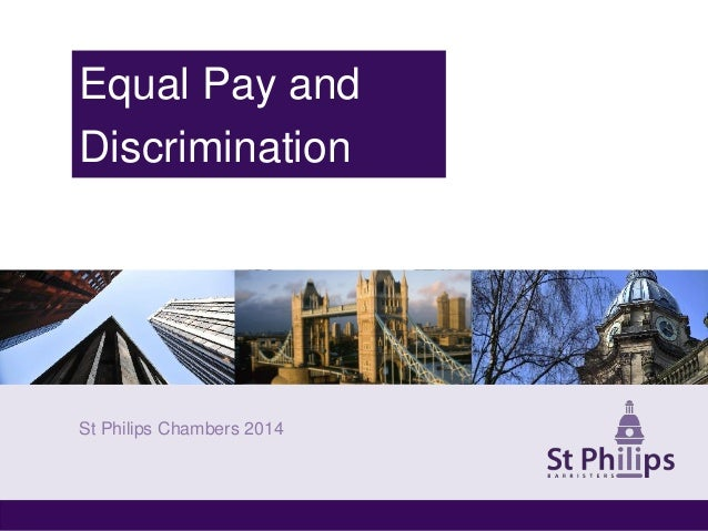 equal pay compensation discrimination essays Partner's equal-pay suit claims sedgwick has a 'male-dominated culture' that hinders women  which in turn leads to lower compensation for female attorneys as.