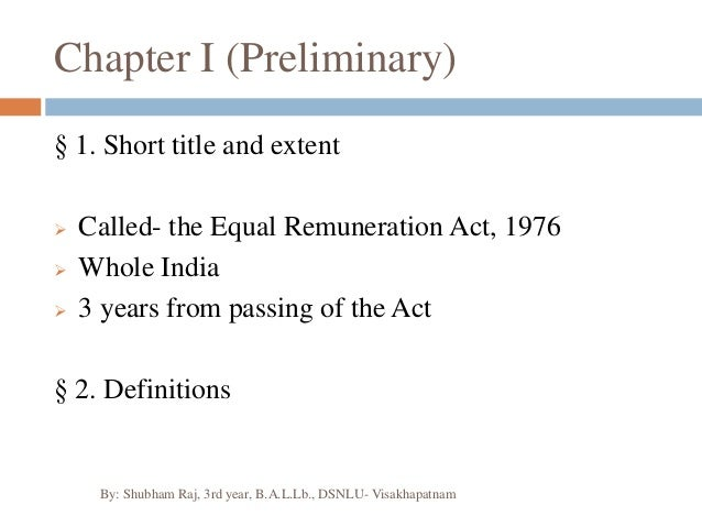 equal remuneration act Form d register to be maintained by employer under rule 6 of the equal remuneration act, 1976 the equal remuneration rules, 1976 1  1 vide g,sr.